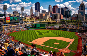 Pittsburgh Pirates baseball game at PNC Park, Pittsburgh, PA